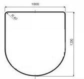 Плита стальная E-PL005