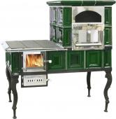 Кухонная большая плита ABX (зеленая) правая