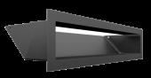 Вентиляционная решетка Kratki Люфт 9х40 графит, 45S