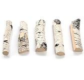 Набор поленьев из керамики 5 шт. AkoWood ID-03