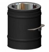 Шибер Schiedel Permeter д. 150 РМ25 (черный)