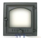410 SVT каминная дверца со стеклом (одностворчатая)