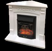 Электрокамин Royal Flame Sorrento белый дуб с очагом Majestic FX Black