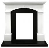 Портал Royal Flame Langford белый с черным под классические очаги