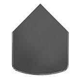 Предтопочный лист 041-R7010 1000x800 серый VPL041R7010