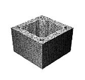 Блоки бетонные TONA tec Одноходовой, h=250 мм М 18/20R
