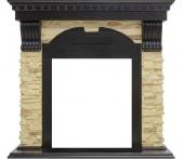 Портал Royal Flame Dublin арочный сланец/венге под классические очаги