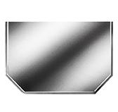 Предтопочный лист 062-INBA 500x1000 зеркальный VPL062INBA