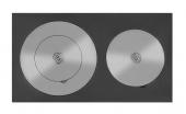 Плита Везувий Усиленная двухконфорочная 4В (410х710)