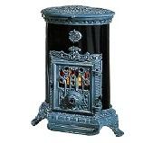 Печь Godin Petit Godin 3726 голубая майолика