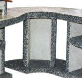 Стол для барбекю поворот 90 градусов
