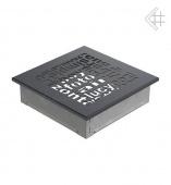 Вентиляционная решетка Kratki 17/17 ABC графит
