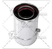 Конденсатосборник VCR (сталь 0,5 мм, диаметр 80х130 мм, зеркальная)