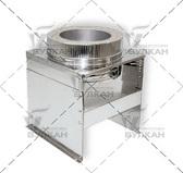 Опора напольная DOFH (материал: нержавеющая полированная сталь, диаметр: 350 мм)