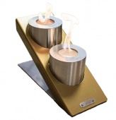 Биокамин Glamm Fire Oblique Tabletop Double / Облик ТеблТоп Дубль