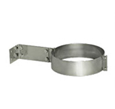 Хомут с креплением к стене (сталь 0,5 мм, диаметр 115 мм) XKHdXX115-DAFF