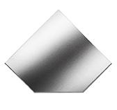 Предтопочный лист 021-INBA 1100x1100 зеркальный VPL021INBA
