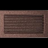 Вентиляционная решетка Kratki 17/30 Стандарт черная медь, регулируемая