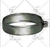 Хомут соединительный (сталь 0,5 мм, диаметр 130 мм, зеркальная) XSvHR