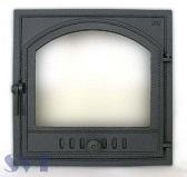 405 SVT каминная дверца со стеклом (одностворчатая)