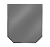 Предтопочный лист 061-R7010 900x800 серый VPL061R7010