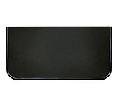 Предтопочный лист 073-R9005 400x600 черный VPL073R9005