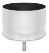 Стакан нерж. с конденсатоотводом (AISI 430/0,5мм) д.150