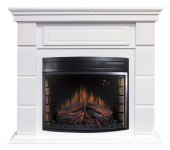 Электрокамин Royal Flame Portland Белый с очагом Dioramic 28 LED FX