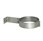 Хомут с креплением к стене (сталь 0,5 мм, диаметр 120 мм) XKHdXX120-DAFF