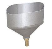 Конденсатосборник (сталь 0,5 мм, диаметр 100x200 мм, матовая) CHO