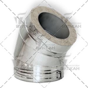 Отвод DOTH 45° (материал: оцинкованная сталь, диаметр 450 мм)