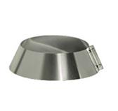 Юбка на трубу (сталь 0,5 мм, диаметр 120 мм) UXX120-DA