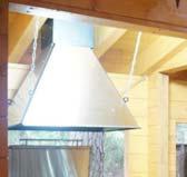 Дымовой купол с комплектом труб