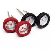 Набор мини термометров с силиконовой фаской
