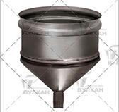Конденсатосборник aisi 304 (сталь 0,5 мм, диаметр 160 мм, зеркальная) CSvHR