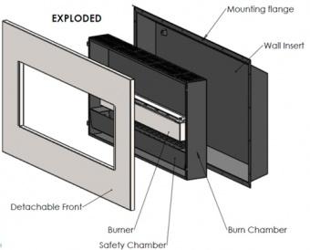 NEW YORK EMPIRE BUILT-IN (матовая сталь)