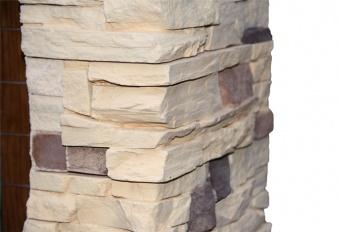 Портал Pierre Luxe дуб сланец под классические очаги Dimplex (Opti-Myst, Optiflame)