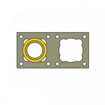 Одноходовая керамическая система глазурированная  с вент-каналом D=160 (БЛОК 380 Х 774), 4м