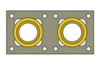 Двухходовая изостатическая система D=200, 10м