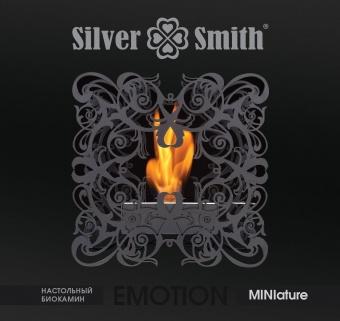 Биокамин Silver Smith EMOTION MINIature BLACK