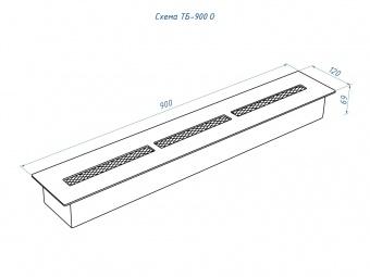 Топливный блок Lux Fire 900 Оптима