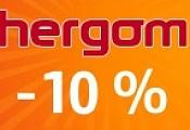 """Акция """"Весенние скидки на Hergom до 10%""""!"""