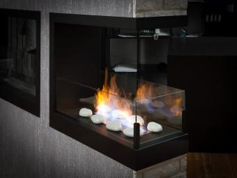 Биокамин Lux Fire Торцевой 1090 S