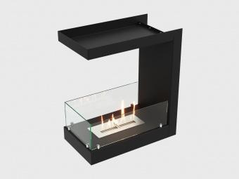 Биокамин Lux Fire Торцевой 555 М