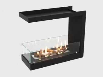 Биокамин Lux Fire Торцевой 755 М