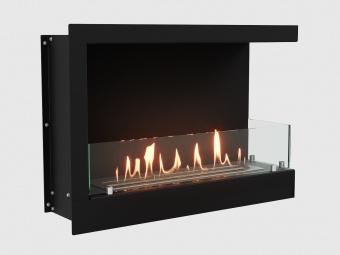 Биокамин Lux Fire Угловой 690 S правый