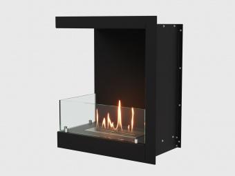 Биокамин Lux Fire Угловой 555 М левый