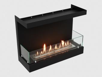 Биокамин Lux Fire Фронтальный 640 S