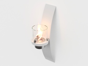Биокамин настенный Lux Fire Олимпус D (белый)