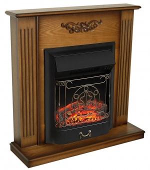 Электрокамин Royal Flame Lumsden дуб антик с очагом Majestic FX Black